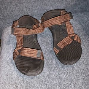 Fitflop mens sandals 9 ryker brown